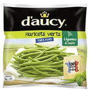 Haricots verts très fins surgelés D'aucy