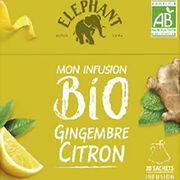 Infusion Éléphant bio gingembre citron