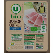 Jambon cuit supérieur U Bio