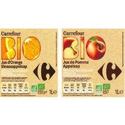 Jus de fruit bio Carrefour