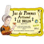Jus de pommes artisanal Le Brun/Intermarché