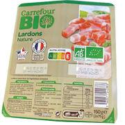 Lardons nature Carrefour Bio