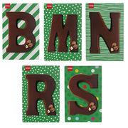 Lettres en chocolat Hema