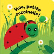 """Livre-marionnette """"Vole, petite coccinelle !"""""""