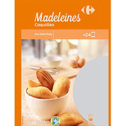Madeleines coquilles Carrefour