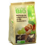 Mélange de raisins secs et de fruits secs Carrefour Bio