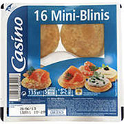 Mini blinis Casino