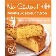 Moelleux saveur citron No gluten Carrefour