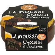 Mousses au chocolat