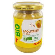 Moutarde de Dijon Auchan Bio