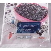 Myrtilles sauvages Auchan
