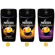 Nescafé Espresso Original, Espresso Puissant et Corsé et Espresso Doux et Fruité