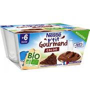 Nestlé P'tit Gourmand cacao Bio