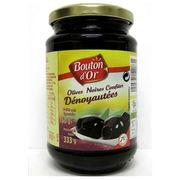 Olives noires confîtes dénoyautées Bouton d'or/Intermarché