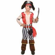 Panoplie pirate rouge Yoopy La Grande Récré