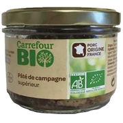 Pâté de campagne supérieur Carrefour bio