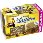 Petit pot de crème au café La Laitière Nestlé
