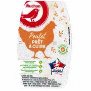Poulet prêt à cuire Auchan