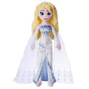 Poupée peluche Elsa La Reine des Neiges Disney