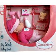 Poupon malade Aimantine (Carrefour)