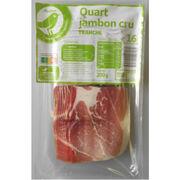 Quart de jambon cru tranché Essentiel (Auchan)