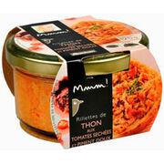 Rillettes de thon aux tomates séchées et piment doux Auchan MMM