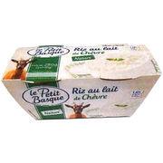 Riz au lait de chèvre Le petit basque