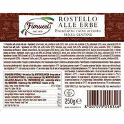 Rostello Alle Herbe - Prosciutto cotto arrosto (Cesare Fiorucci)