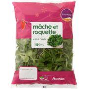 Salade mâche et roquette Auchan