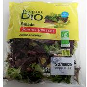 Salades jeunes pousses Nature Bio Cora
