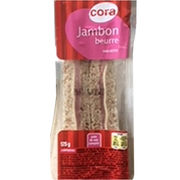 Sandwich club jambon emmental Cora