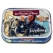 Sardines à l'huile d'olive Les Mouettes d'Arvor