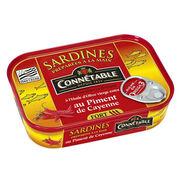 Sardines au piment de Cayenne Connétable Auchan