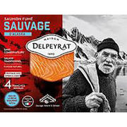Saumon fumé sauvage Delpeyrat/Franprix