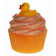 Savon cupcake avec canard décoratif