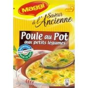 Soupe Maggi saveur à l'ancienne poule au pot aux petits légumes