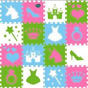 Tapis princesse 16 dalles Tmimi