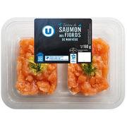 Tartare de Saumon des Fjords de Norvège magasins U