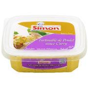 Tartinable Poulet sauce curry Simon Dutriaux