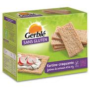 Tartines craquantes farines de sarrasin et de riz Gerblé sans Gluten