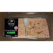 Terrine de saumon à l'aneth Carrefour le Marché
