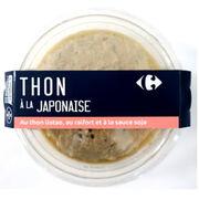 Thon à la japonaise Carrefour