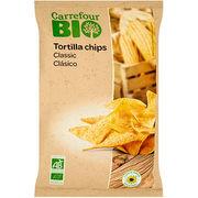 Tortilla Chips Classic Carrefour Bio