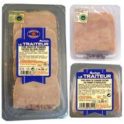 Tranches de foie gras de canard Auchan Le traiteur