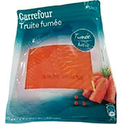 Truite fumée Carrefour