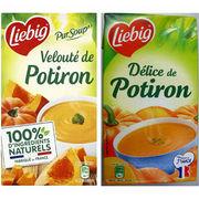 Velouté de Potiron et Délice de Potiron Liebig