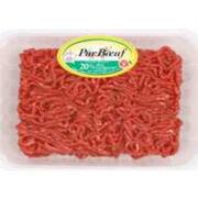 Viande hachée pur bœuf 20 % matières grasses Socopa