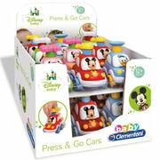 Voitures Disney Baby Press & Go Clementoni