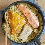 Recette facile pour une cuisine saine - Choucroute de poissons express
