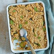 Recette de cuisineCrumble de courgettes à la menthe